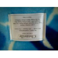 Quality Antistatic Blue Soft Mink Blanket Adults With Cartoon , 85% Acrylic 10% Polyester wholesale