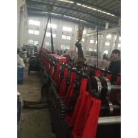 Cheap 3MM Q195-235 C Purlin Roll Forming Machine With 18 Forming Roller Steel Construction Area for sale