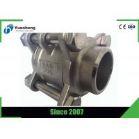 Cheap Butt Weld End 1000PSI 3PC Ball Valve Stainless Steel 316 Material for sale