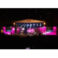 Cheap Waterproof Rental LED Displays , full color LED Stage Display for Music Concert for sale