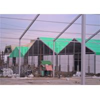 Cheap 1000 Sqm Clear Span Industrial Warehouse Tent with Glass Walls for Outdoor Events for sale