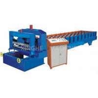 China 50 - 60HZ Sheet Pressing Automatic Roll Forming Machine For House Roof Panel on sale