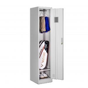 China Single Doors Metal Locker Cabinet Thickness 0.6mm Steel Office Furniture on sale