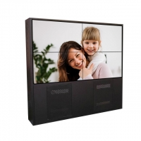 China TV 500cd / M2 55 Inch 2k 1920*1080 LCD Video Wall on sale