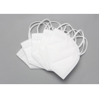 Cheap Disposable Nonwoven 5 Layer KN95 Foldable Dust Mask for sale