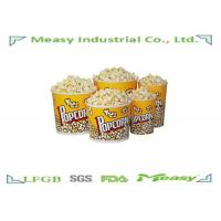 Cheap 64oz Popcorn Paper Containers With Personalised Design Printing for sale