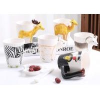 Cheap 450ml Ceramic Reusable Coffee Cup for sale
