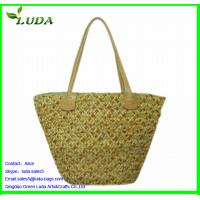 Cheap 100% handmade natural fashion straw bag for sale