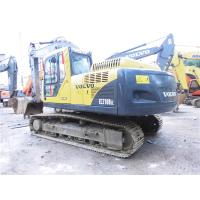 Cheap EC210BLC Second Hand Volvo Excavators Volvo D6D Engine 0.92cbm Bucket Capacity for sale