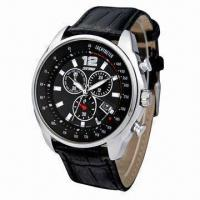 Cheap Analog Quartz Watch with Japanese Movement and 30m Water-resistant for sale