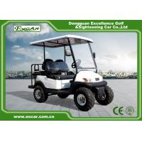 Buy cheap EXCAR 48V 2 Seater Electric Hunting Golf Carts Intelligent Onboard Charger from wholesalers