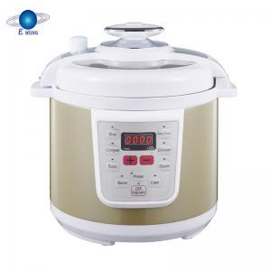 Cheap Porridge Power Electric Pressure Cooker Non Stick Coating Inner Pot Smart Control for sale