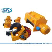 Buy cheap Heavy Duty Electric Wire Rope Hoist 20T 25T 50T Capacity Fixed / Movable Type from wholesalers