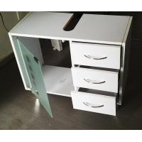 Cheap Partical Board Modern Bathroom Sink Furniture Cabinets With 3 Drawers for sale