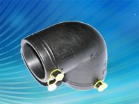China Ginde Polyethylene Gas Pipe 90 degree elbow on sale