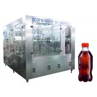 Cheap Sus304 Material Carbonated Drink Filling Machine Durable 12 Mouths Warranty for sale
