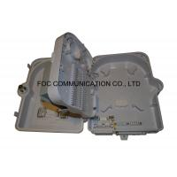 China Fiber Terminal Box 24 Core Flame Retardant Pre-loaded PLC 1:16 Cassette Type Splitter on sale