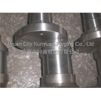 Cheap 35CrMo / 42CrMo  Diameter 200 - 750mm  Heavy Duty Standard Forged Crankshafts For Truck And Mining Machinery for sale