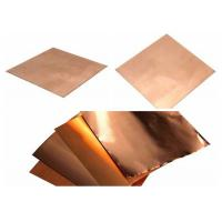 Quality Shield Copper Foil Sheet 0.15mm - 8mm Thickness wholesale