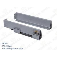 China Side mounted drawer slides for Kitchen Cabinet Bathroom Drawer KRS01 on sale