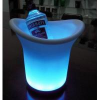 China Colorful LED Ice Bucket For Bar Supplies, Light Bar Led Champagne bucket on sale