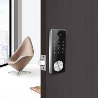 Cheap Remote Control Card Code Door Lock Safe Smart Bluetooth WIFI Auto Deadbolt for sale