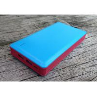 Cheap Dual USB External Power Bank 13200mAh 1000mA For Cell Phone , Portable wholesale