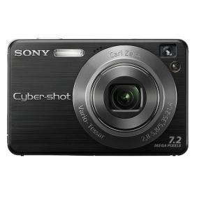 Cheap Sony Cyber-shot DSC W110 7.2MP Slim Digital Camera - Silver for sale