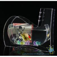 Cheap Wedding decoration small acrylic fish tank for sale