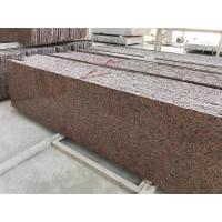 Cheap Smooth Cut To Size Natural Stone And Tile G562 Maple Red Granite Slab for sale