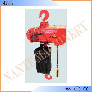 Cheap 4 Ton / 8 Ton Electric Chain Hoist / Hoist Lifting Machine With Electric Trolley wholesale