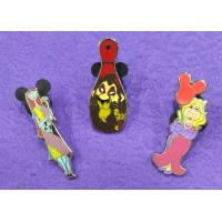 Cheap Hard Enamel Pins Color In Nickle/ Gold Plating For Cartoon Characters wholesale