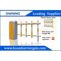 Buy cheap CE Approved Motor Durable Intelligent Automatic Barrier Gate With Fence Arm from wholesalers