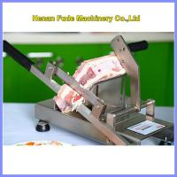 Cheap small frozen meat slicer, Household manual meat slicer for sale