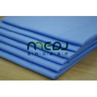 Cheap Environmental Medical Paper Roll , Blue Customized Paper Bed Sheet Roll for sale