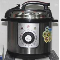 Buy cheap mechanic design of electric pressure cooker with signal painting of inner pot from Wholesalers