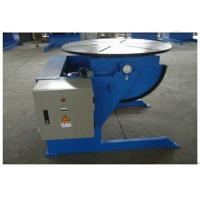Buy cheap Small Rotary Welding Positioners With 600kg Loading Capacity , VFD Control from wholesalers