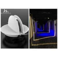 6W RGB Led Recessed Lighting Fixtures Changing Trick Light DMX Control System