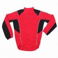 Cheap Cycling Jersey with Coolmax Fabric and EN471 Reflective Piping for sale