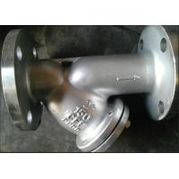 Cheap CF8 y type flange Strainer for sale