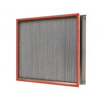 Cheap Heat-Resistant Clean Room HEPA Filters , HEPA Air Filter 450Pa Final Pressure Drop for sale