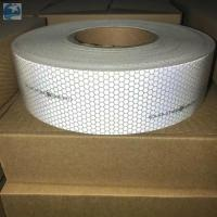 Buy cheap Sew On SOLAS Reflective Tape , Lifejackets Retro White Marine Tape IMO MED from wholesalers
