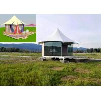 Cheap Durable Exquisite Fabric Sail Luxury Tent Hotel Camping Hovel With Window wholesale