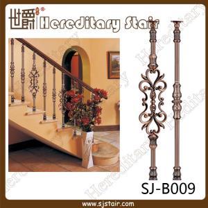 Cheap Interior Casting Aluminum Balustrade for Stair (SJ-B009) for sale