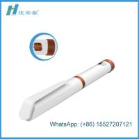 Cheap Clinics / Hosiptal White Diabetes Insulin Pen 3ml Cartridge In Plastic Materials for sale