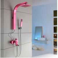China Shower Sets Waterfalls Shower Valves Mixer Shower Valve Pink Color on sale