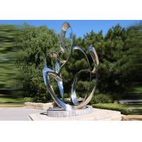 Cheap Custom Size Stainless Steel Sculpture For City Decoration OEM / ODM Acceptable for sale