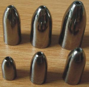 Cheap tungsten worm weight, tungsten bullet weight for sale