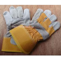 "Cheap 10.5"" Short Leather Welding Safety Gloves wholesale"