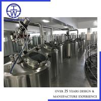 Cheap 1.7m3/H Industrial Beer Brewing Equipment CIP Rotation Ball Easy Operation for sale